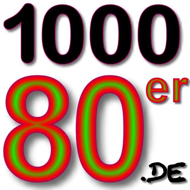 1000 80er Logo